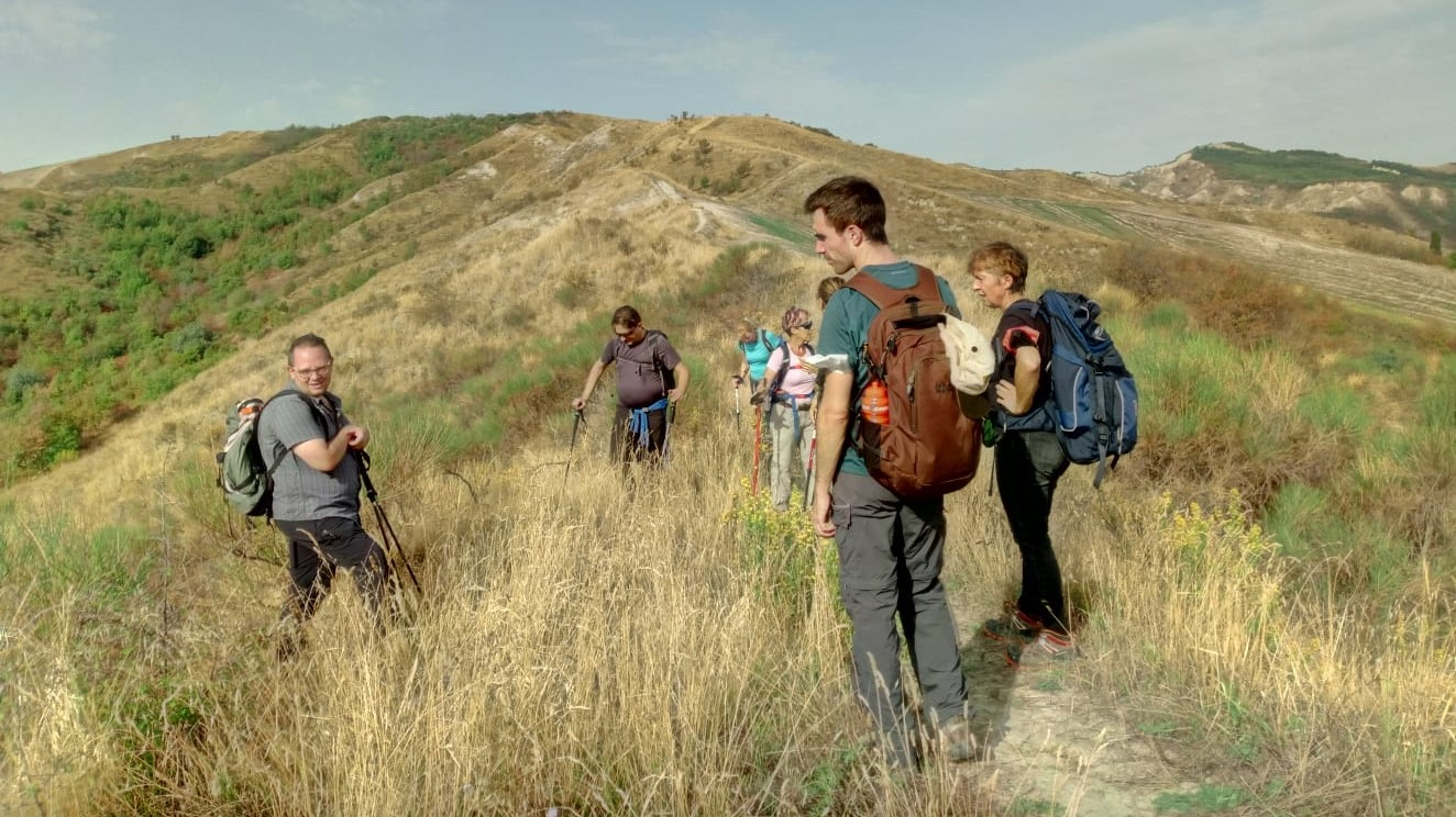 """26th of September 1st excursion of """"Cammina Boschi"""" Life Project area Monte Penzola"""